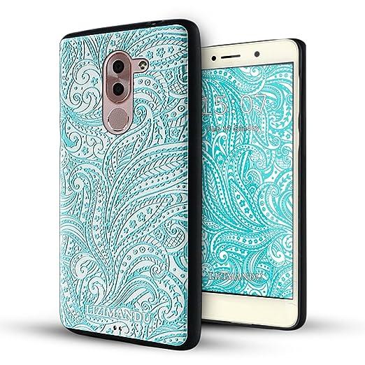7 opinioni per Huawei Honor 6x Cover,Lizimandu Creative 3D Schema UltraSlim TPU Copertura Della