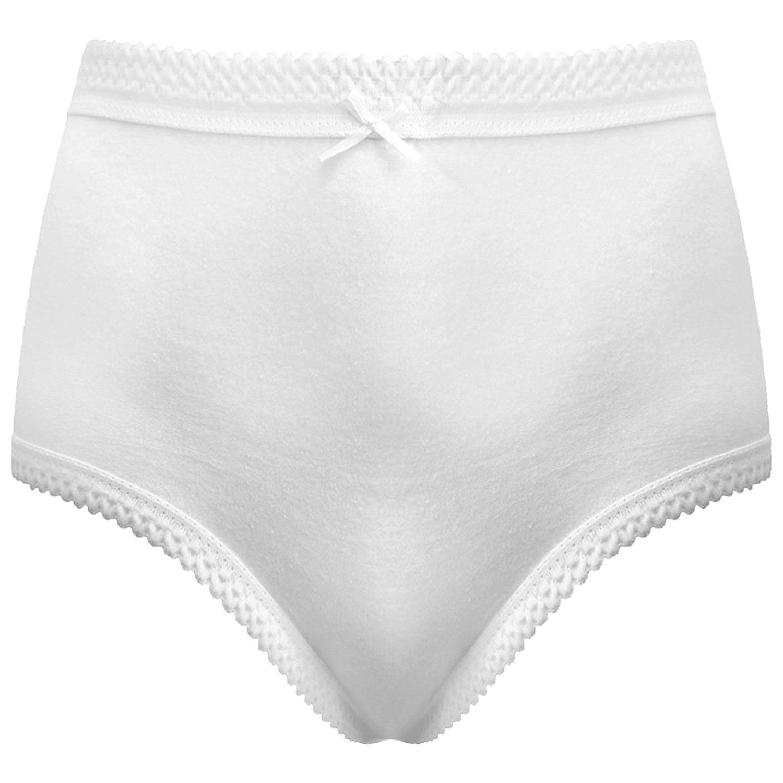 Full Mama Briefs Knickers Underwear Lingerie UK Size 28-30 Ladies 12 Pack