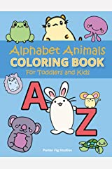 Alphabet Coloring Book for Toddlers: Easy Preschool Kindergarten Prep Learning, Fun Childrens Activity Book, for Kids Age 2-5