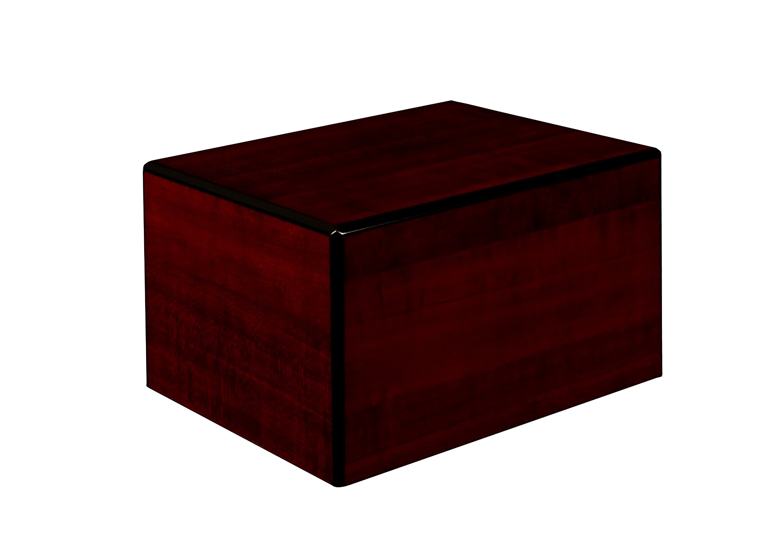 Chateau Urns Society Collection, Large Adult Cremation Urn, Cherry wood finish by Unforgettable Urns (Image #1)