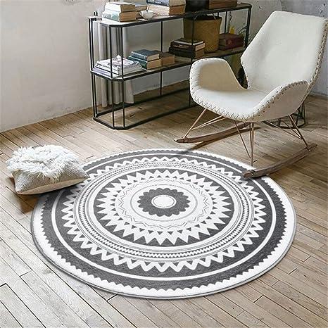 Teppichs Nordic gris Serie redondo para silla Salón ...
