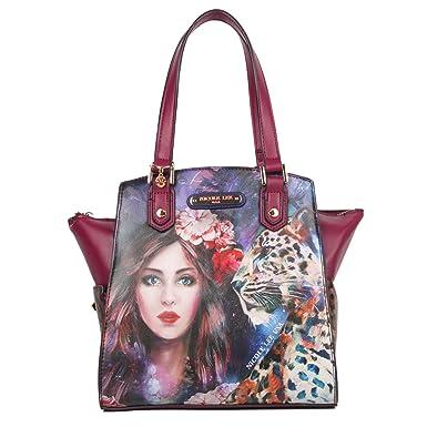 a5ea0f1760 Nicole Lee Women s Adeen Smart Lunch Handbag Vol. 2 (Wild Eclypse) Travel  Shoulder Bag
