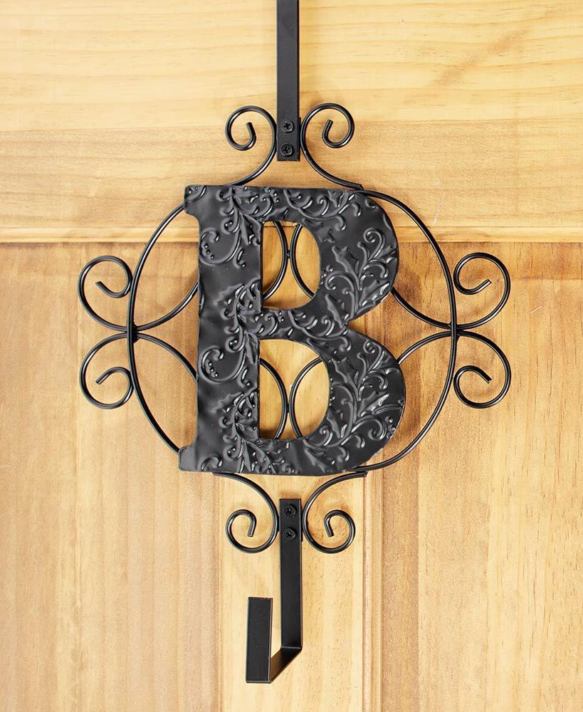 The Lakeside Collection Monogram Wreath Hanger - B