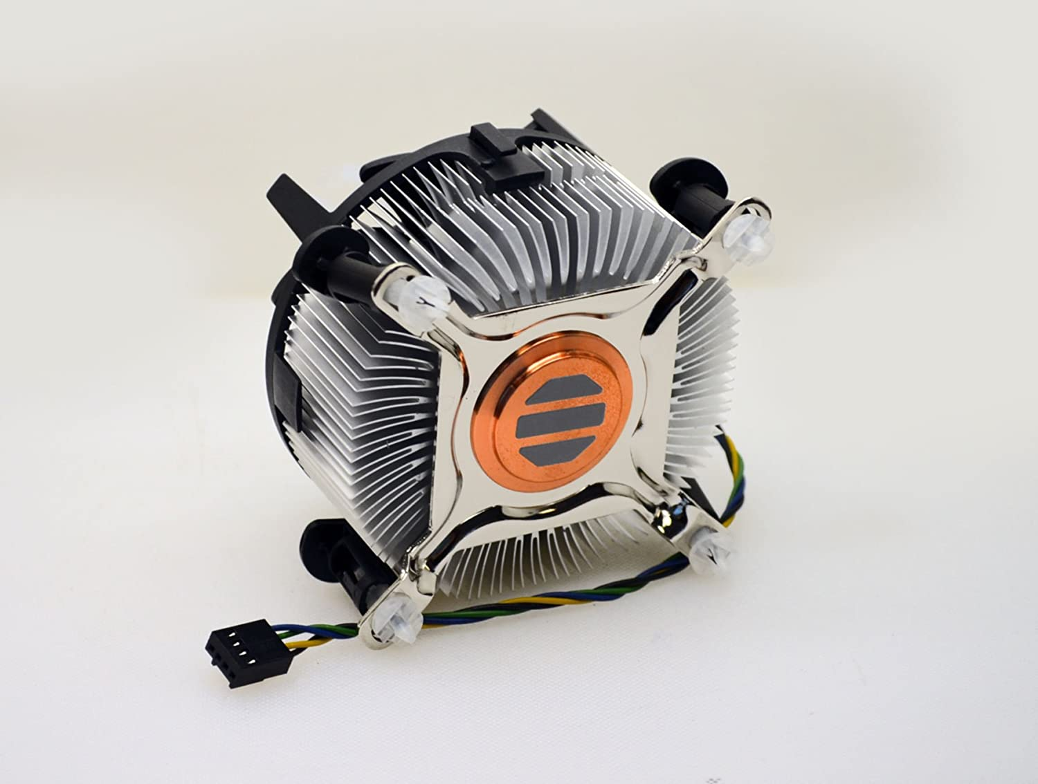 Foxconn 3U Heavy Duty 35MM Copper Core Heat Sink Cooling Fan for 8th Generation Intel i7 Processors 8700T / 8700K / 8700 / 8060K