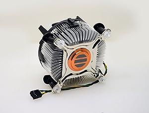 Foxconn 3U Heavy Duty 35MM Copper Core Heat Sink Cooling Fan for 8th Generation Intel i7 Processors 8700T / 8700K / 8700 / 8060K