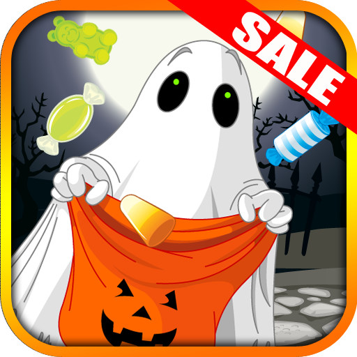 Trick or Treat Candy Drop Halloween Kids App Tilt Game(Kindle Tablet Edition) -