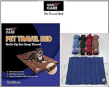 Pilot Imports® - Colchón de viaje para mascotas, para maletero, asiento trasero, cama para perro, 88 cm x 58 cm: Amazon.es: Productos para mascotas
