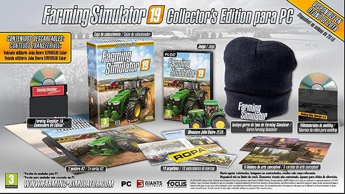 Farming Simulator 19 - Collector Edition: Amazon.es: Videojuegos