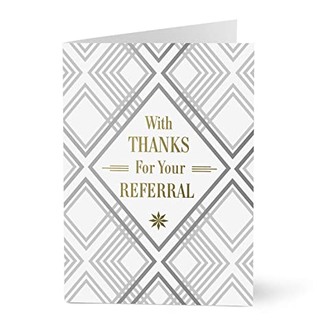 Amazon hallmark business thank you card thank you for your hallmark business thank you card thank you for your referral card thanks for referral m4hsunfo