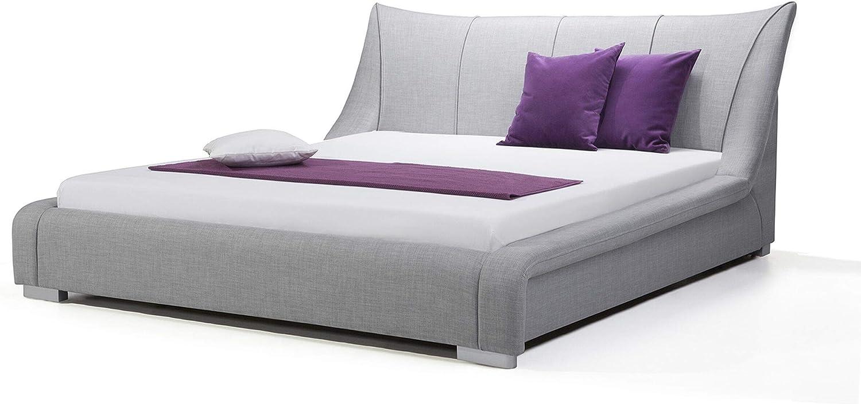 Cama tapizada - Super King Size - 160x200 cm - Con somier ...