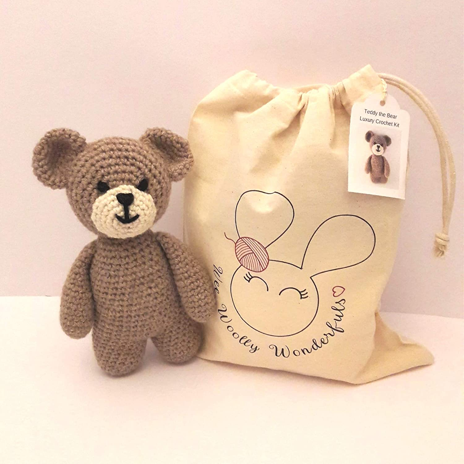 Teddy Bear Bag Crochet Pattern - Hobbycraft Blog | 1500x1500