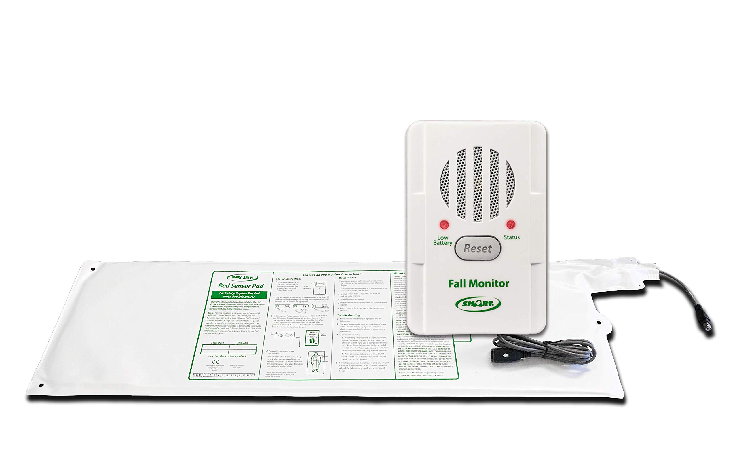 Smart Caregiver Bed Alarm and Sensor Pad by Smart Caregiver