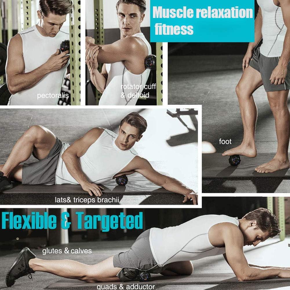 Fxhan - Pelota de masaje vibratoria de alta intensidad para ...