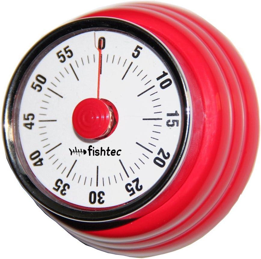 FISHTEC ® Temporizador Retro 50 'S - Magnético - Acero Inoxidable