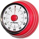 Timer retro 50 's-Barra magnetica in acciaio inox