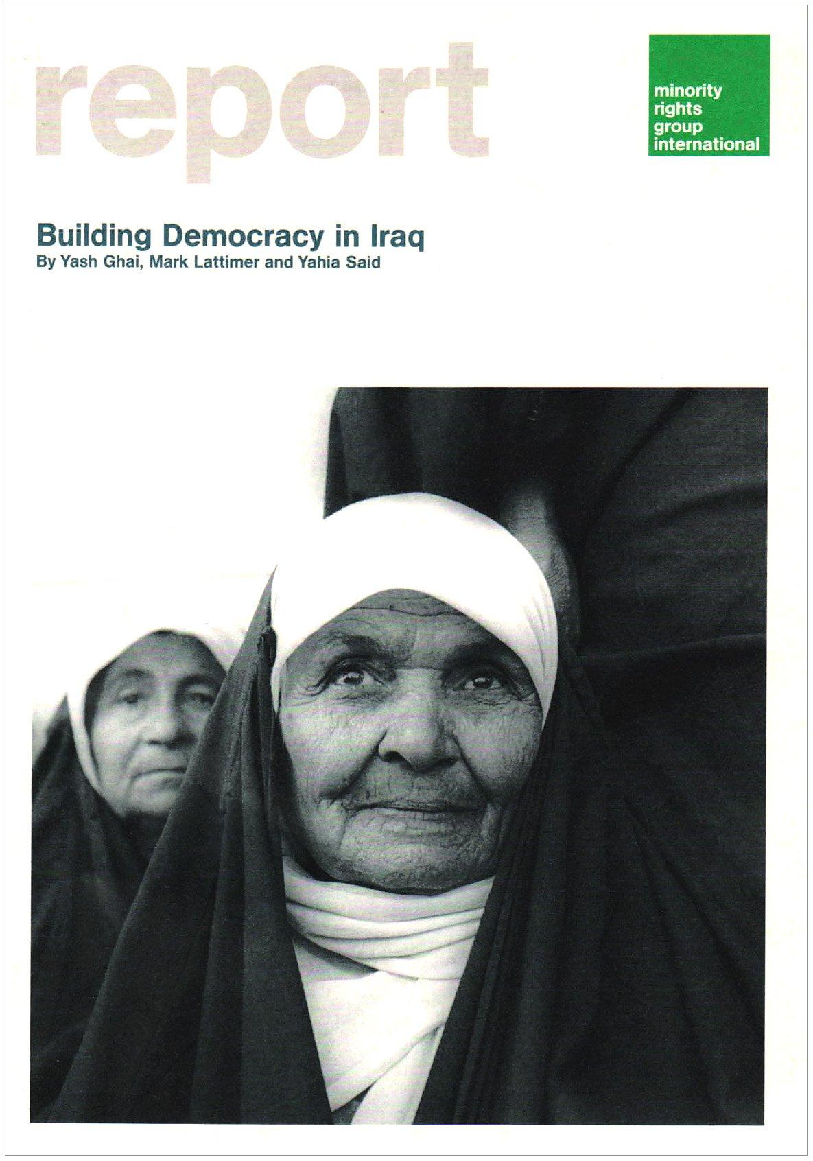 Building Democracy in Iraq pdf