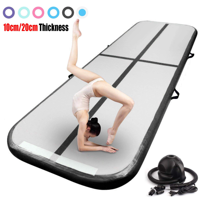 3//4 Airtrack Air Track Floor Inflatable Gymnastics Tumbling Mat GYM Carbon Fiber