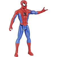 Marvel Spider-Man Titan Hero Series Spider-Man Figure with Titan Hero Power Fx Arm Port, Ages 4 and Up