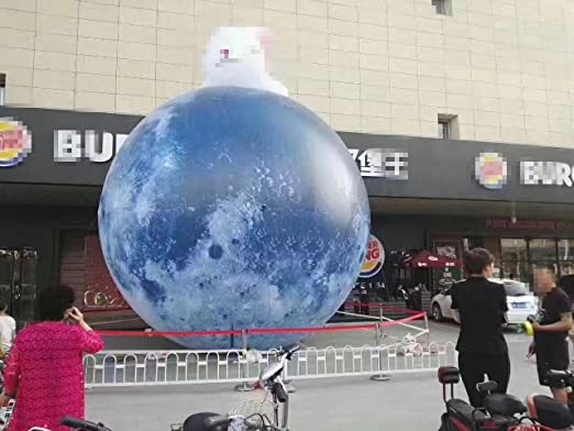 Customized hinchable modelo globo luna planeta globo para caso ...