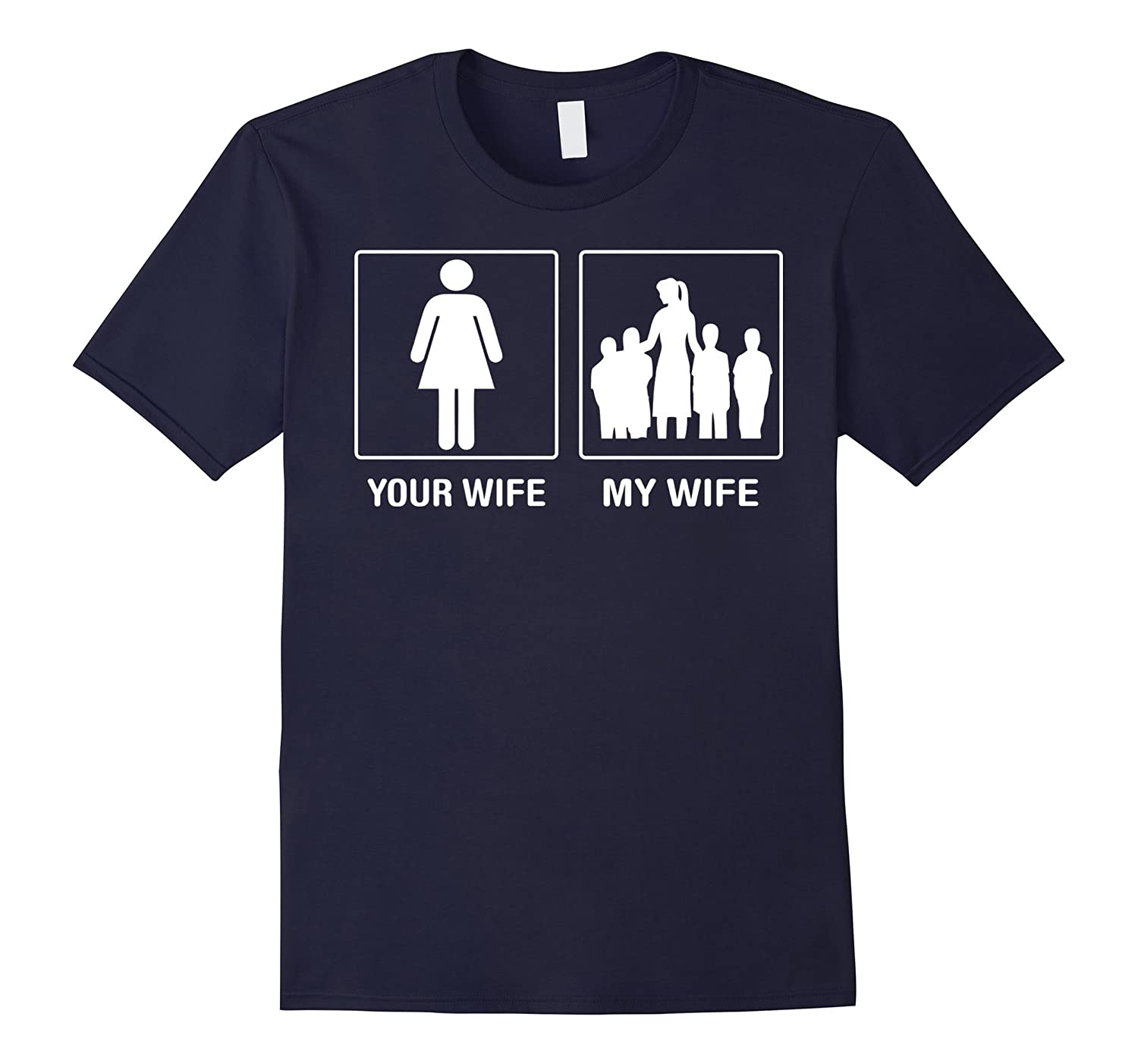 Your Wife My Wife Childcare Worker Profession Proud Tshirt-PL