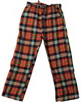 Wes and Willy Little Boys' Plaid Pant