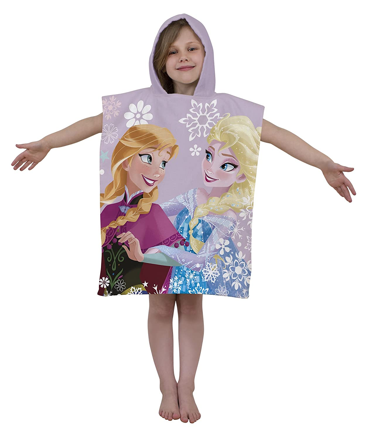 Disney Frozen Crystal Hooded Poncho Charatcer World DFRCRYTW001UK