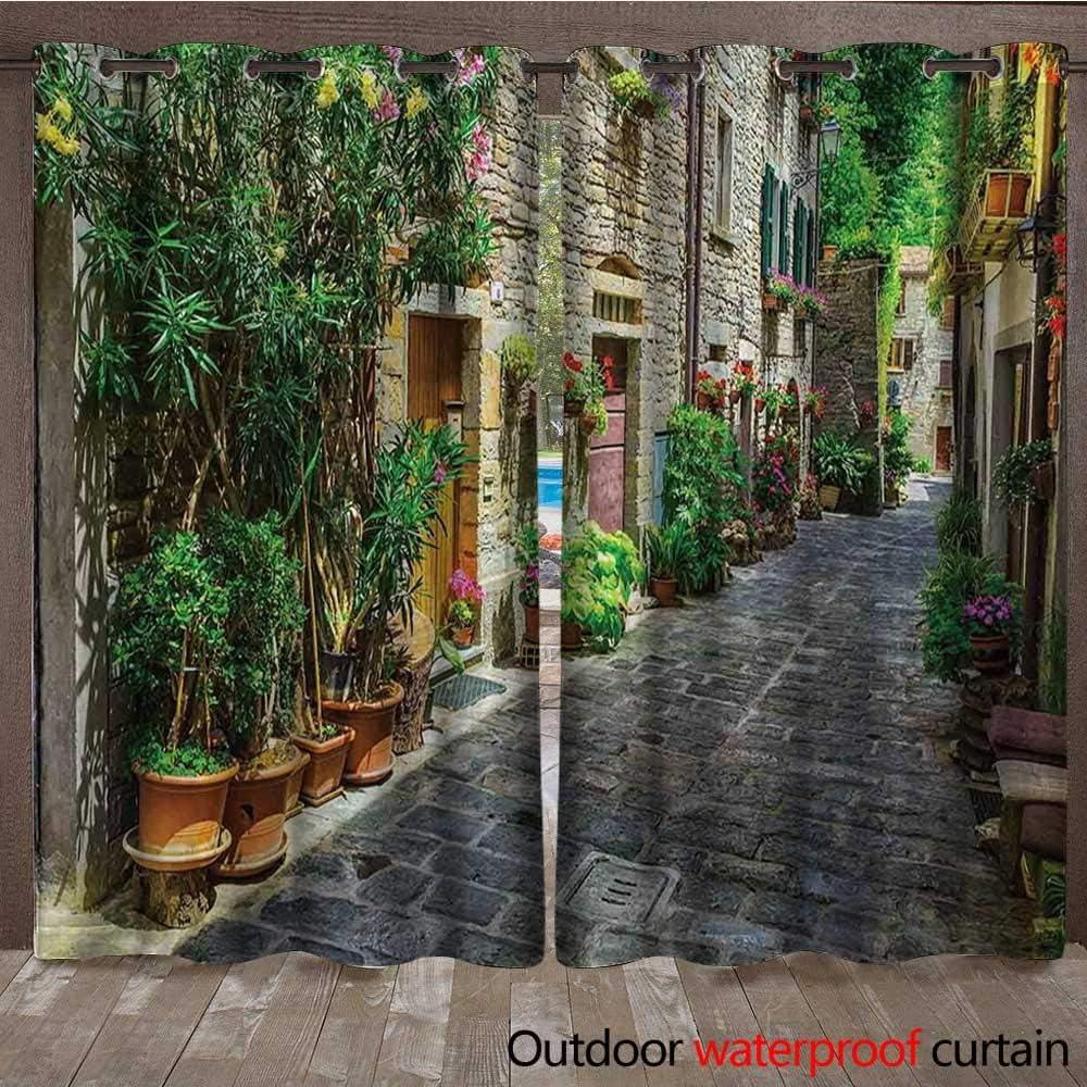 BlountDecor Tuscan - Cortina de Interior y Exterior para Puerta a ...