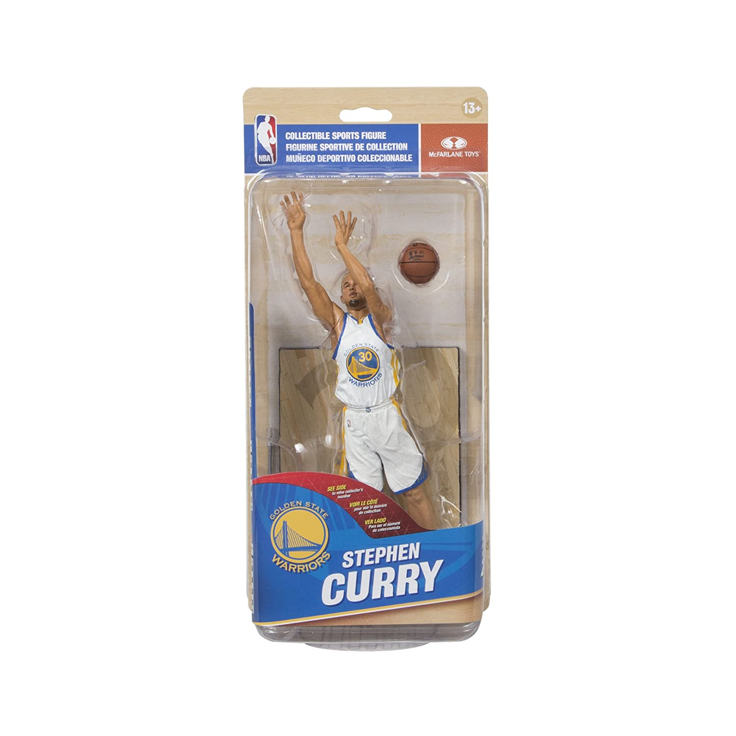 McFarlane Toys NBA Series 28 Stephen Curry Action Figure