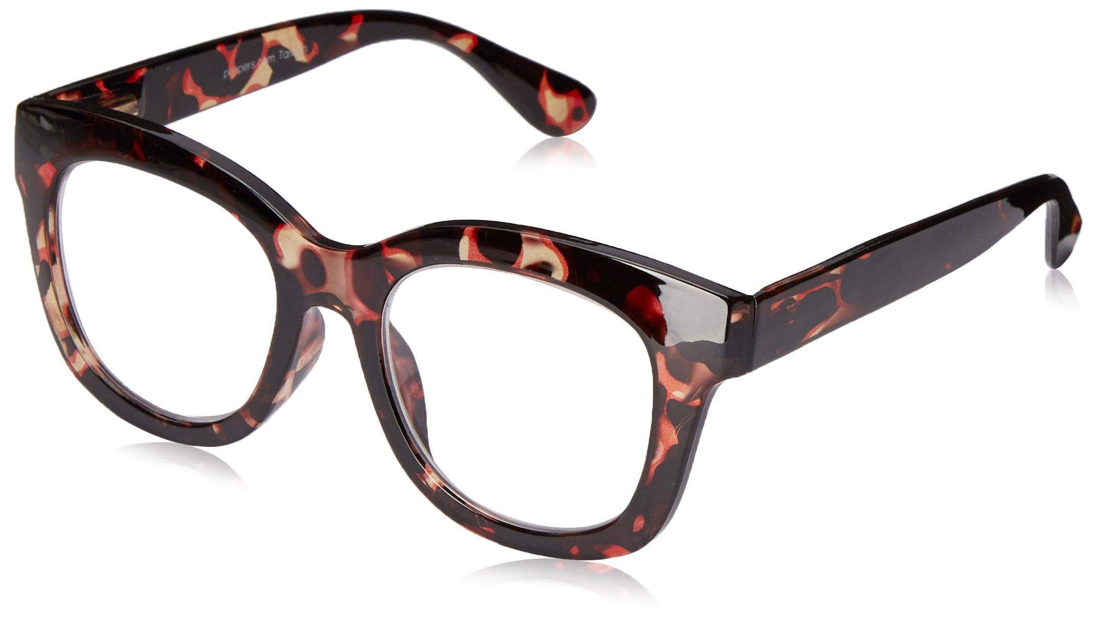Peepers Women's Center Stage 2300150 Oval Reading Glasses, Tortoise, 1.5 by Peepers