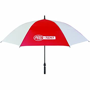 ProTekt Pro - Tekt Paraguas de golf, color rojo/blanco