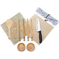 WeeDee Kit para Hacer Sushi de Bambú 12