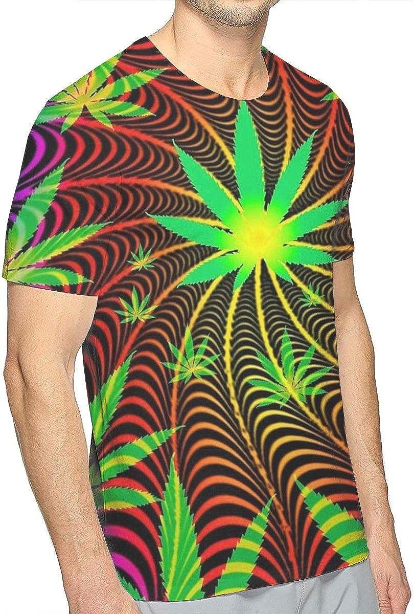 Cute Guinea Pig Novelty Slim-Fit T-Shirt for Men Adult Teens Short Sleeve