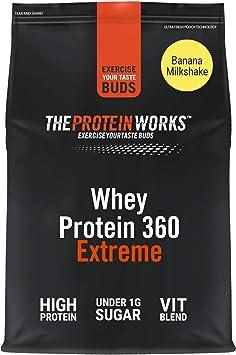 Batido de Proteína Whey 360 Extreme | Bolsa de 600g | Batido ...