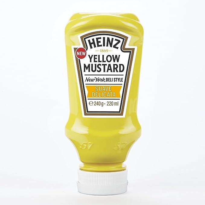 Heinz - Mostaza, 240 gr
