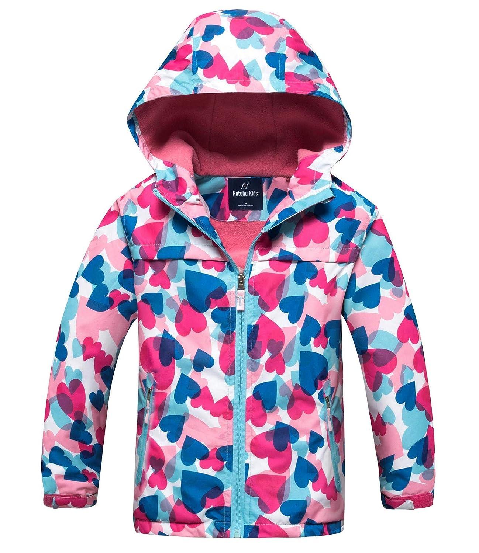 Kid s Puffer Jacket Boys Girls Colorful Waterproof Windproof Packable Hoodie Jacket Coat HuTuHu