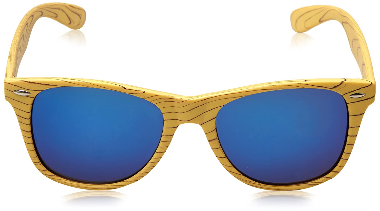 Customobel Detroit Woody Blue Gafas de Sol, Azul, 4 Unisex ...