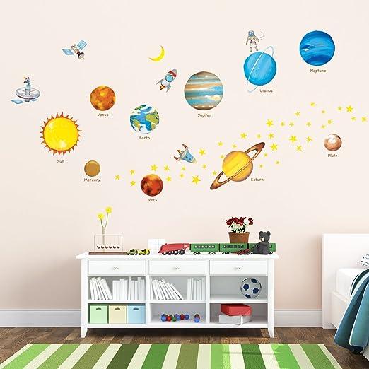 DECOWALL DS-8012 Sito di Costruzione Automobili Adesivi da Parete Decorazioni Parete Stickers Murali Soggiorno Asilo Nido Camera da Letto per Bambini Piccolo