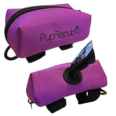 PupRepublic Soporte para bolsa de perro para guardar la ...