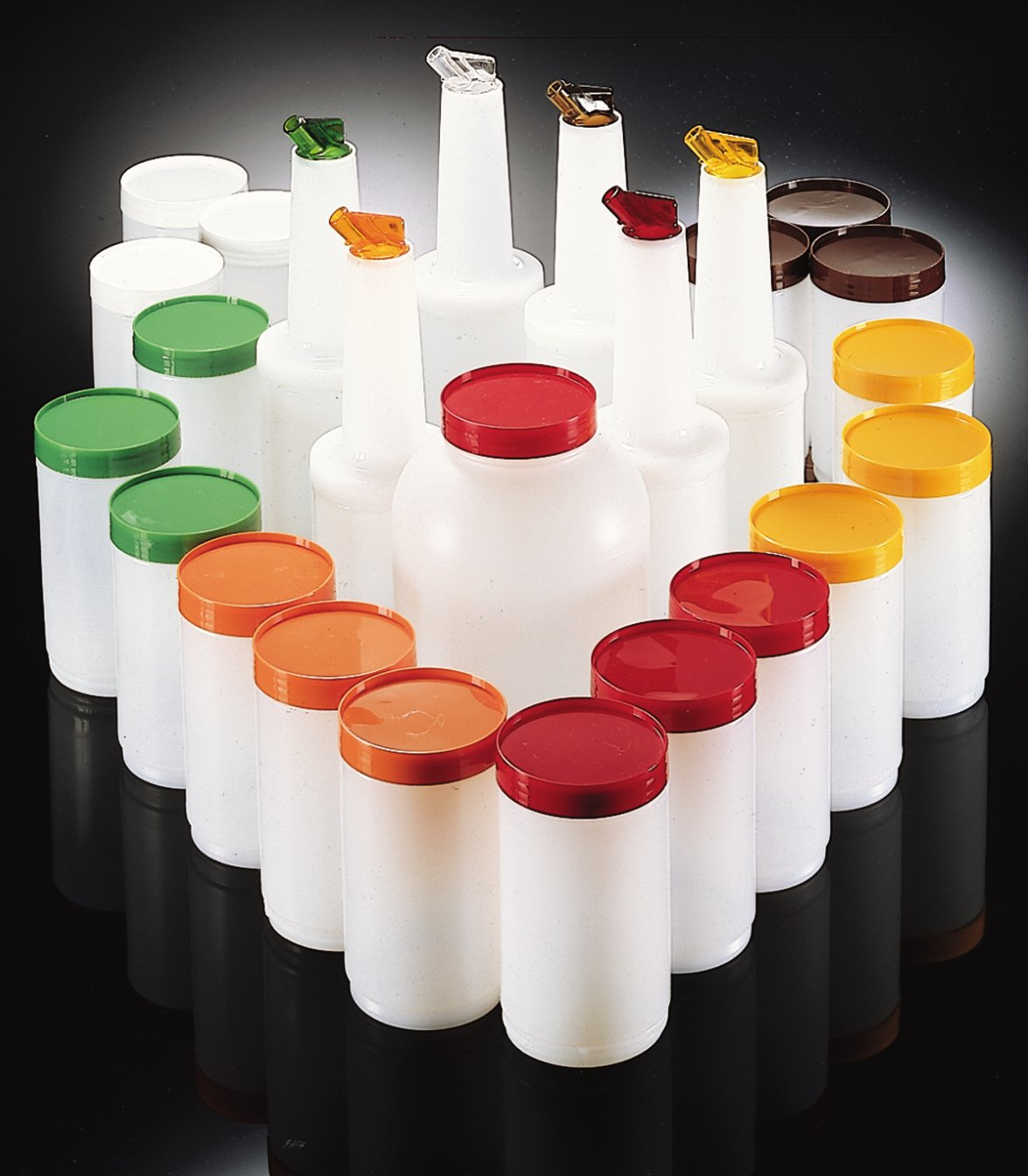 Carlisle PS601200 Stor N' Pour Bar Service Pack, Assorted (Pack of 25) by Carlisle (Image #6)