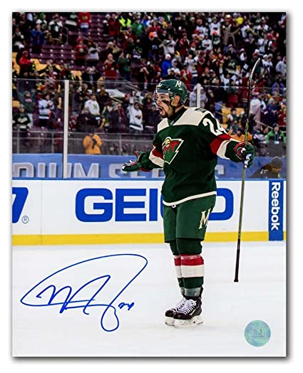 f97f13a3c99 Image Unavailable. Image not available for. Color  Matt Dumba Minnesota Wild  ...