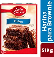 Betty Crocker Fudge Brownie Mix, Chocolate, 519 g