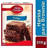 Betty Crocker Fudge Brownie Mix, Chocolate, 519 g