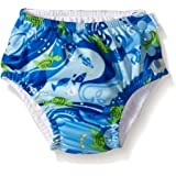 i play. Swim Nappy (6-12 Months, Blue Turtle Batik)