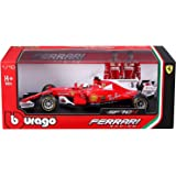 Bburago Ferrari SF70-H Modellino Scala 1:18 F1 - Sebastian Vettel