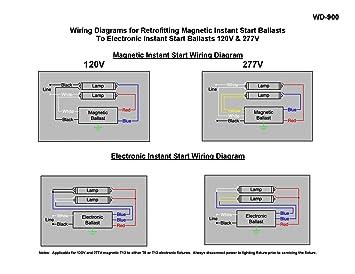 ROBERTSON 3P20158 ISL296T12MV Fluorescent Electronic Ballast for 2 on fluorescent light diagram, rapid start ballast wiring t12 to t8, programmed start ballast wiring diagram, electronic ballast diagram, advance ballast diagram, instant start ballast wiring diagram,