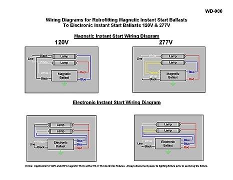 Marvelous Robertson 3P20158 Isl296T12Mv Fluorescent Electronic Ballast For 2 Wiring Database Gramgelartorg