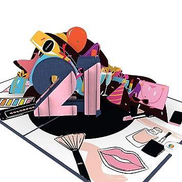 Amazon.com: Colorpop Cards 21st Tarjeta de felicitación de ...