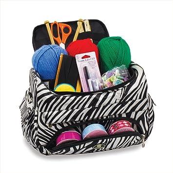 Bolsa de costura y organizador de agujas para coser en cebra ...