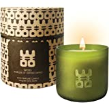 WOO Luxury Handmade Scented Candle by Ecologically Made Premium Beeswax Aromatherapy Candle with an Exquisite Gift Box | Stress Relieving European Fragrance | 50h Burn | Aromatic Oriental Hues.