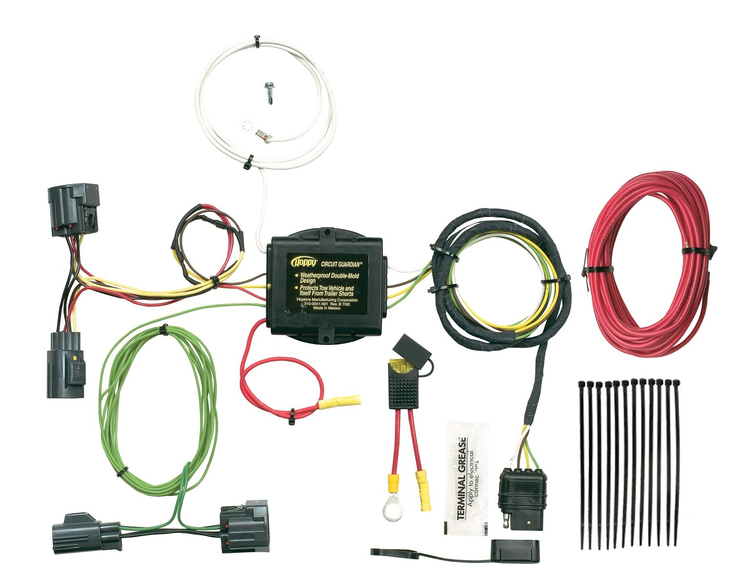 Hopkins 42485 Plug In Simple Vehicle To Trailer Wiring Plugandplay Connector Kit Motorcycle Superstore Automotive